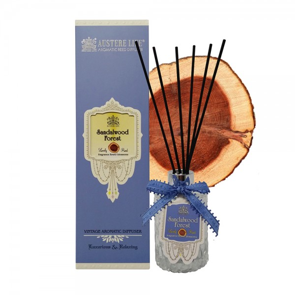 AUSTERE LIFE Vintage Aromatic Reed Diffuser - Sandalwood Forest   160ml