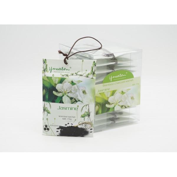 Bamboo Charcoal Sachet - Jasmine (15g x 10 pcs)