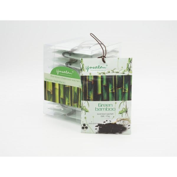 Bamboo Charcoal Sachet - Green Bamboo (15g x 10 pcs)