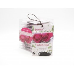 Bamboo Charcoal Sachet - Turkish Rose (15g x 10 pcs)