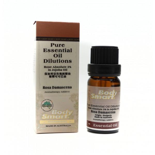 Body Smart – Rose Bulgarian 3% in Jojoba Oil         10ml
