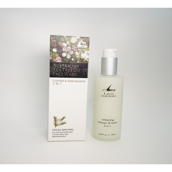 Lex Whitening Cleanser & Toner 2 in 1 - Suitable for All Skin Type   120ml