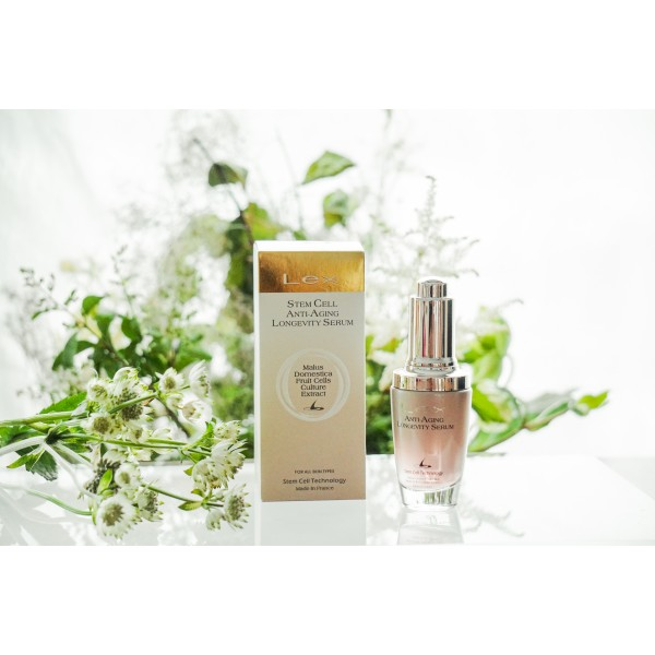 Lex Stem Cell Anti-Aging Longevity Serum - Suitable for all types of skin    30ml