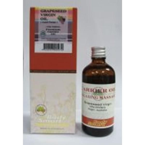 Body Smart – Grapeseed Oil Virgin  ( Vitis Vinifera – Cold Pressed)   100ml