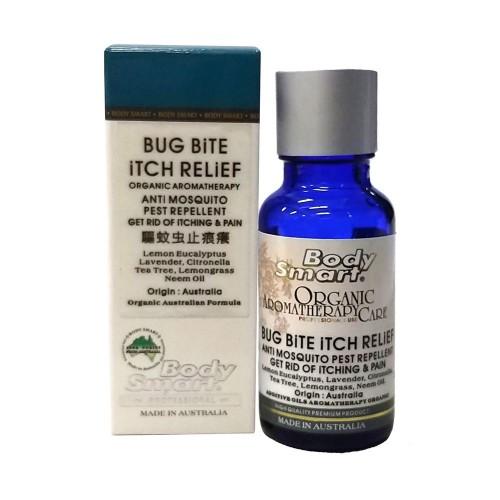 Body Smart – BUG BITE ITCH RELIEF Certified Organic Oil Healing Therapy - Australia    30 ml