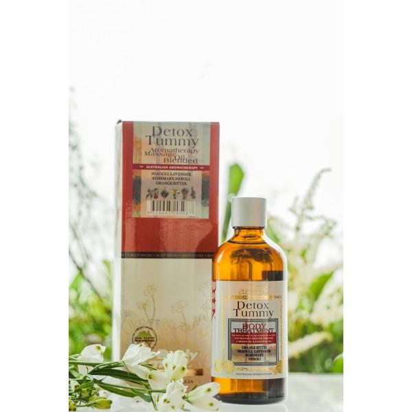 Body Smart – Detox Tummy Body Organic Massage Oil        100 ml