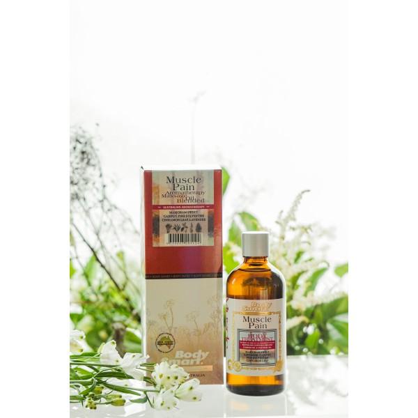 Body Smart – Muscle Pain Body Organic Massage Oil        100 ml