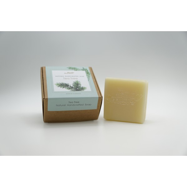 Body Smart - Natural Handcrafted Soap - Tea Tree Soap